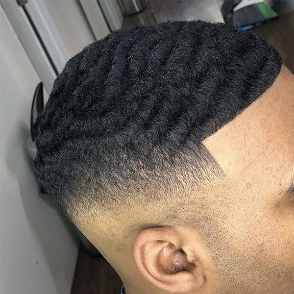 coupe homme wave